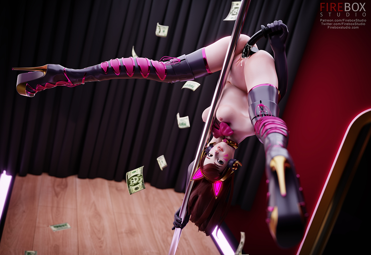 D.Va Stripper inverted